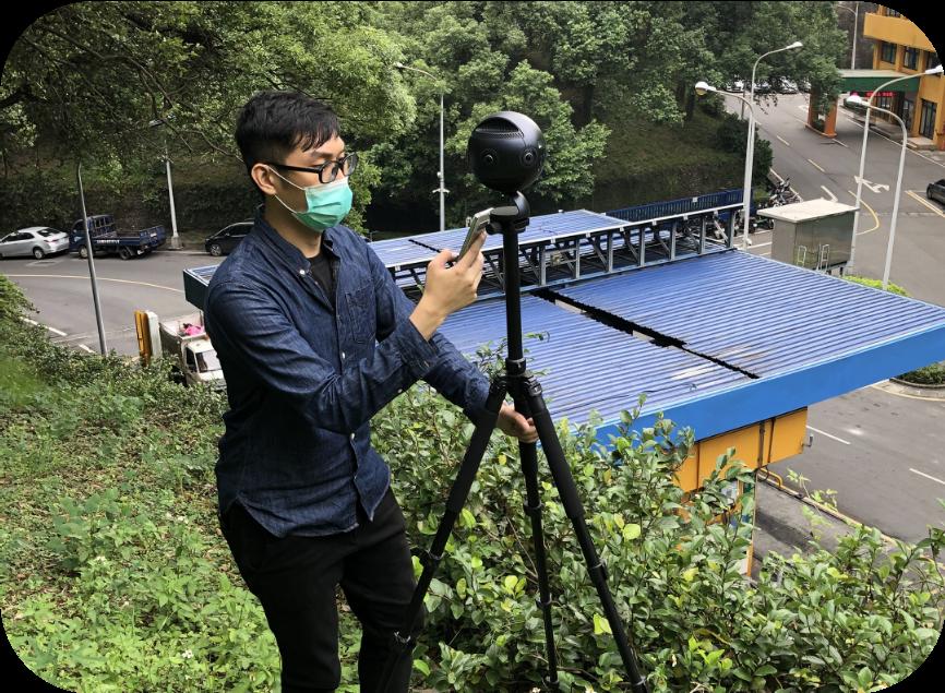 3D360°環景地面拍攝